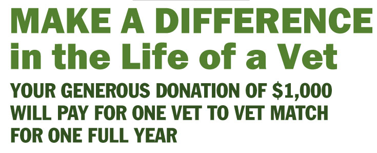 Vet to Vet launches Make a Difference campaign